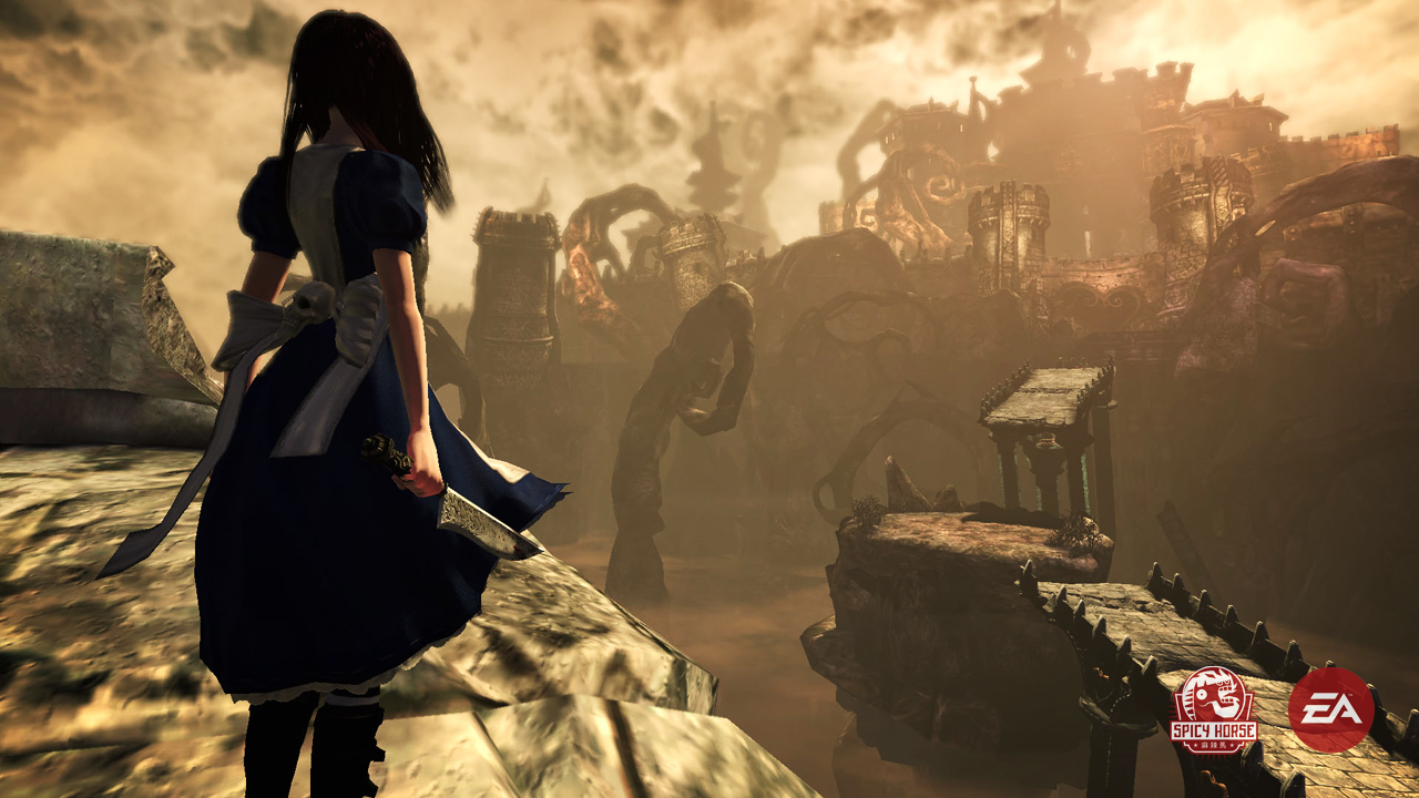 alice madness returns just chilling the